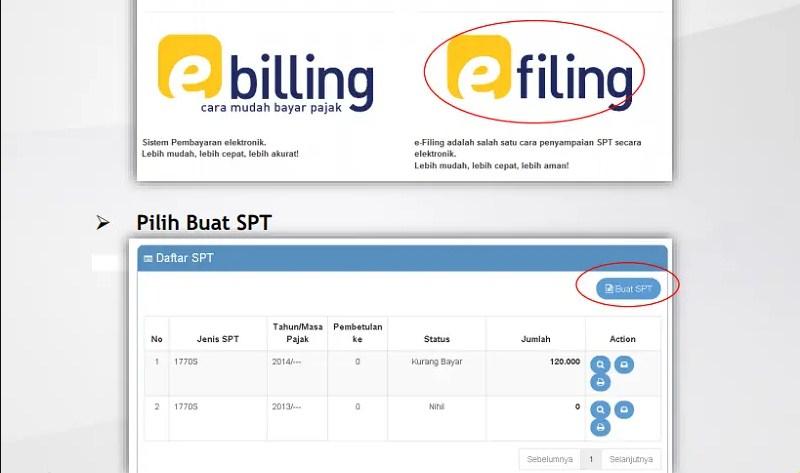 Cara Daftar Lapor Pajak Tahunan Secara Online Lewat e-Filling