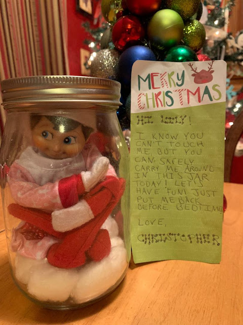 How To Carry Around The Elf on the Shelf