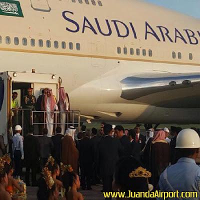 Raja Salman Bertolak ke Jepang, Sejumlah Penerbangan Delay