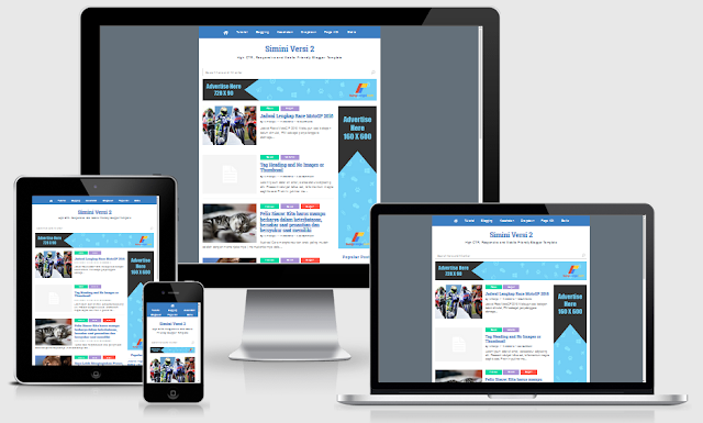 Simini V2 Responsive Blogger Template