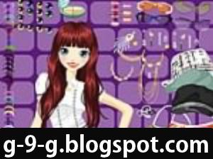 632c0115f طريقة اللعب : لعبة اكسسوارات رائعة ساعدي البنوتة الجميلة في اختيار اروع  الاكسسوارات الجميلة .. اللعب عن طريق الماوس