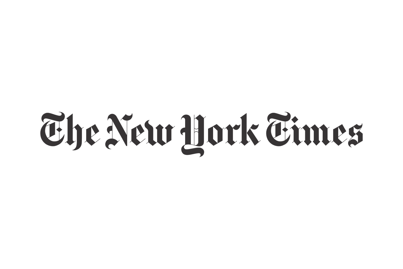 Francois Illas New Tradition: The New York Times Logo