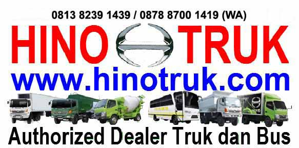 HINO TRUK Authorized Dealer Truk dan Bus