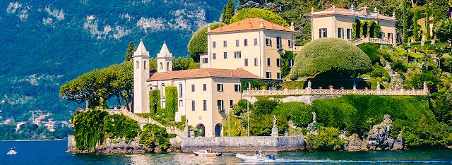 Como Gölünde Gezilecek yerler, Villa del balbianello