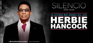 Concierto de HERBIE HANCOCK en Bogotá