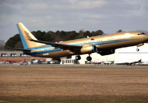 Pesawat Boeing 737-800 Milik  Sultan Johor