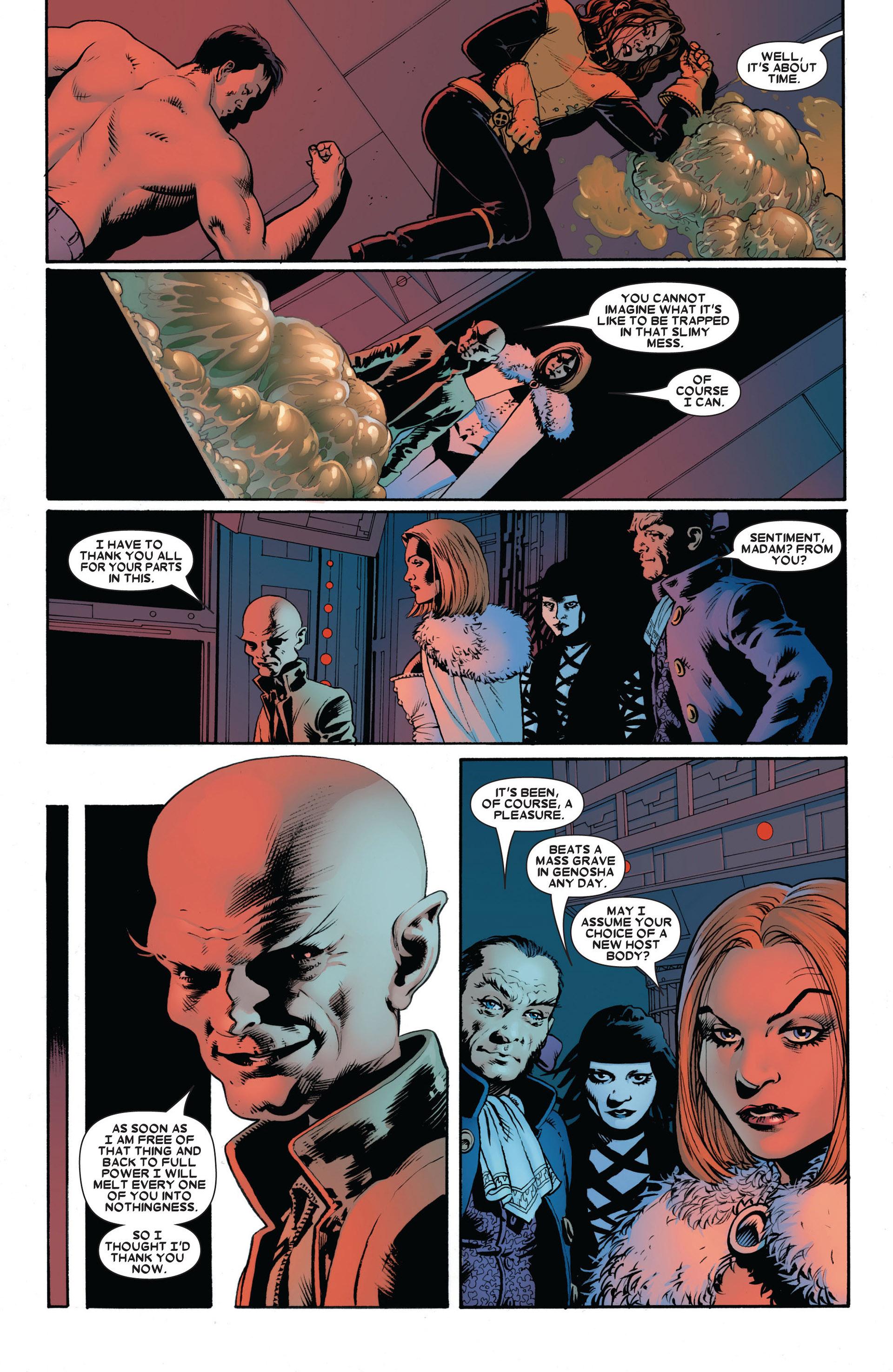 Read online Astonishing X-Men (2004) comic -  Issue #17 - 22