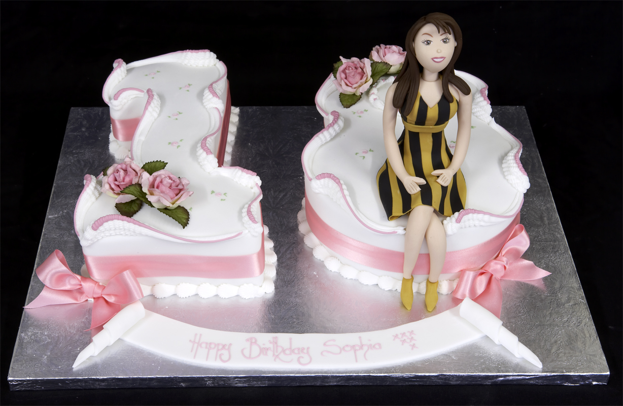 Birthday Cakes For Girls Th Birthday