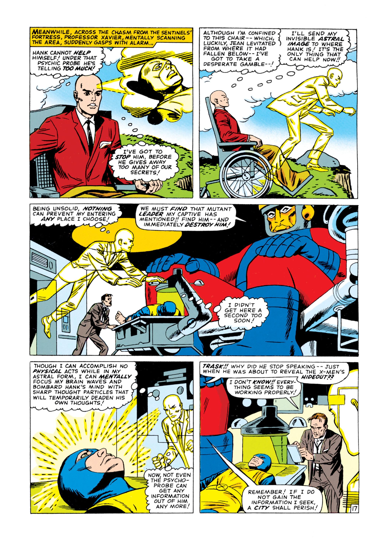 Read online Uncanny X-Men (1963) comic -  Issue #15 - 18