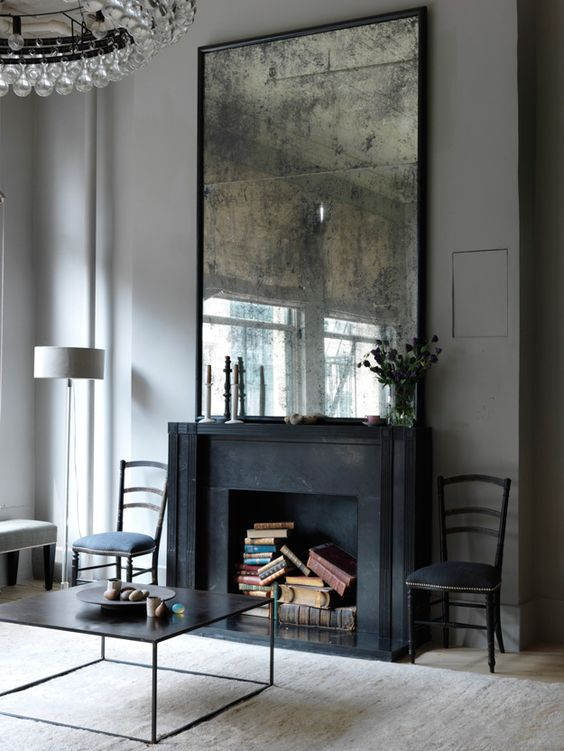 The Peak of Trs Chic Fireplace Chic