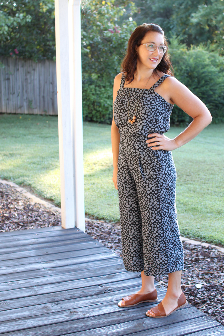 DIY Linen Jumpsuit // Sewing For Women