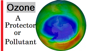 Ozone A protector or pollutant seminar report ppt