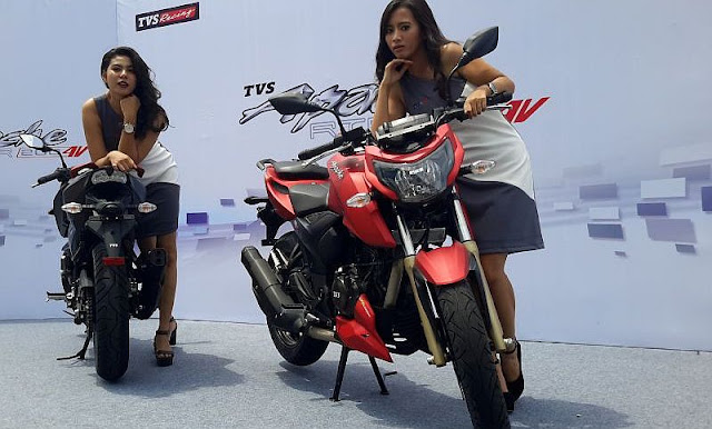 TVS Apache RTR 200 4V with model