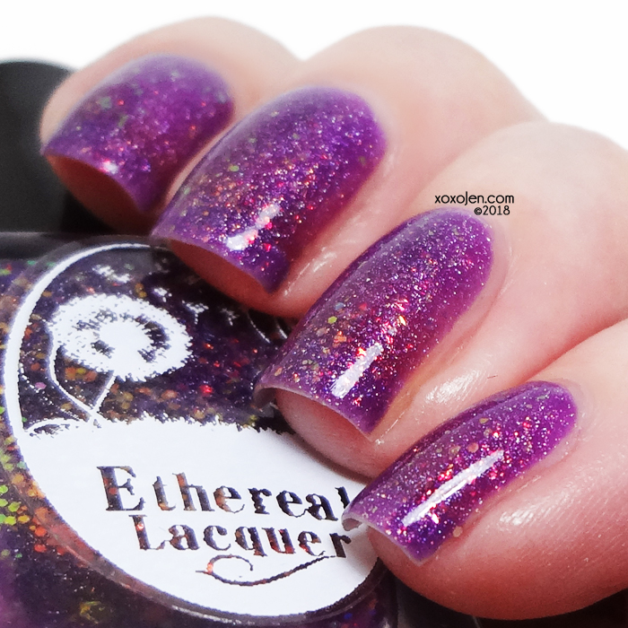 xoxoJen's swatch of Ethereal Lacquer We're All Mad Here
