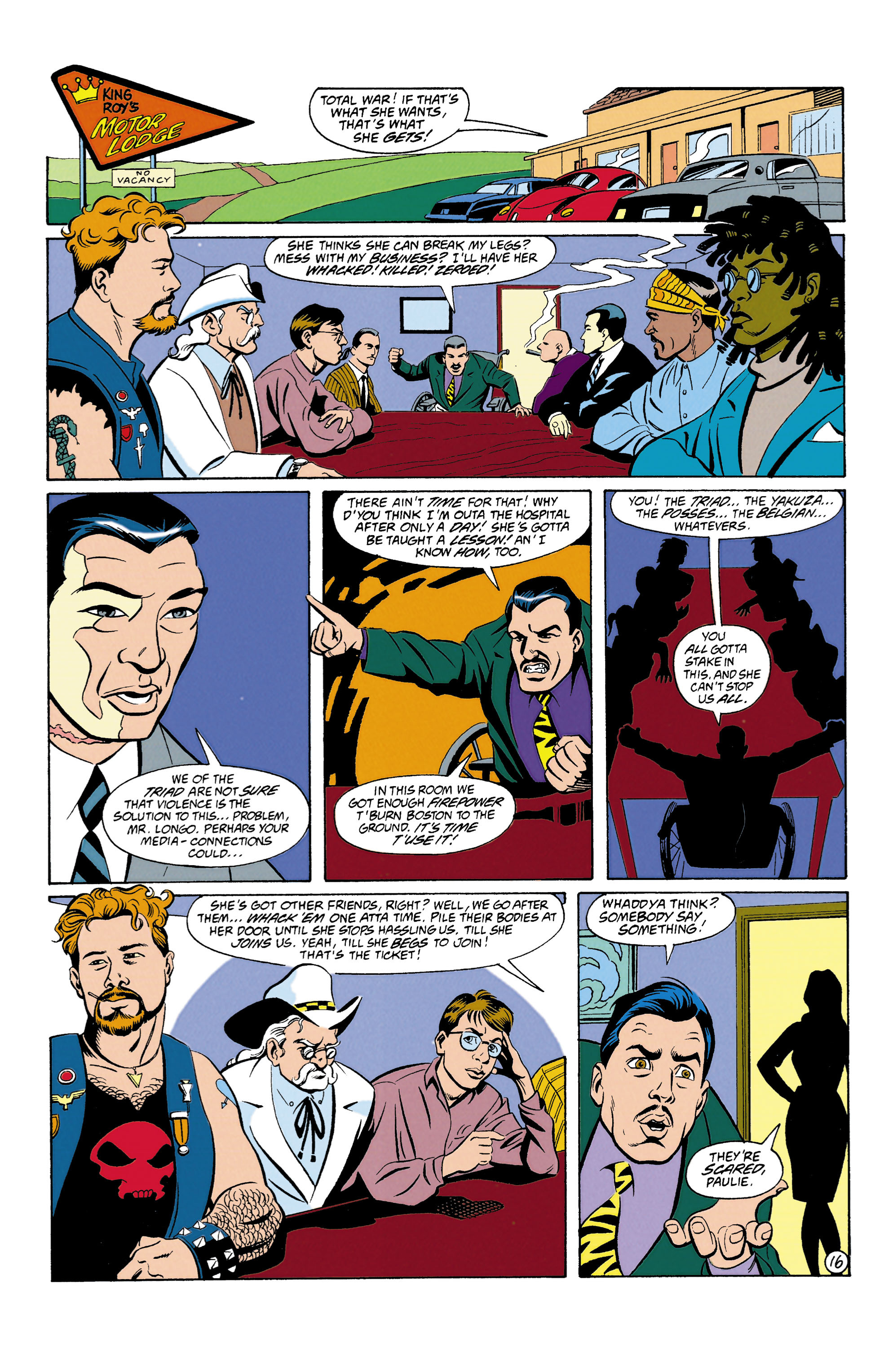 Read online Wonder Woman (1987) comic -  Issue #87 - 17