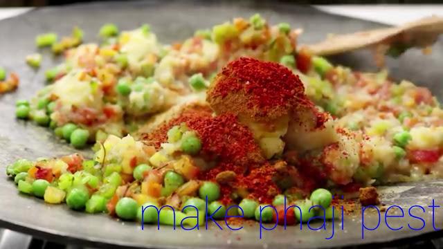 How to make Pav Bhaji recipe easly in home