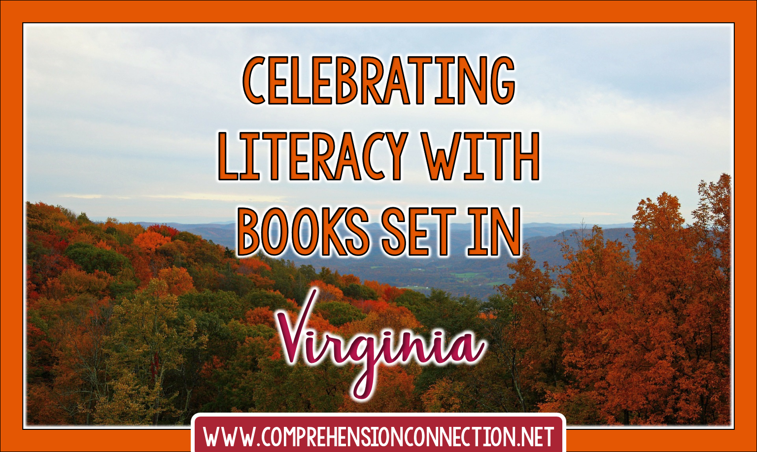 Celebrate literacy with books from Virginia and teach a little Virginia history too with this ideas.