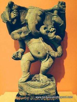 elephant god in show at Berkeley Art Museum in Berkeley, California