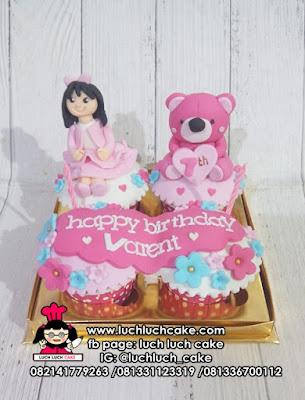 Cupcake Tema Beruang