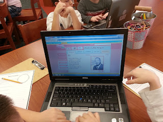 Martin Luther King Jr. Research Project- library time and online research