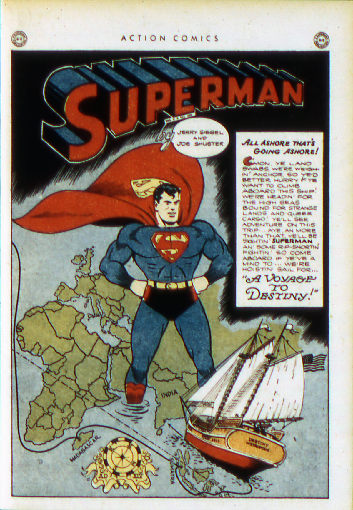 Read online Action Comics (1938) comic -  Issue #76 - 4