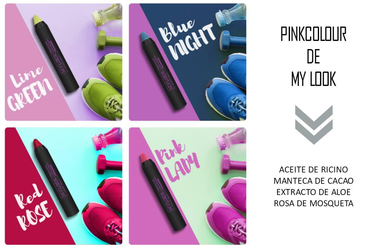 Pink Colour de My Look pintalabios permanentes