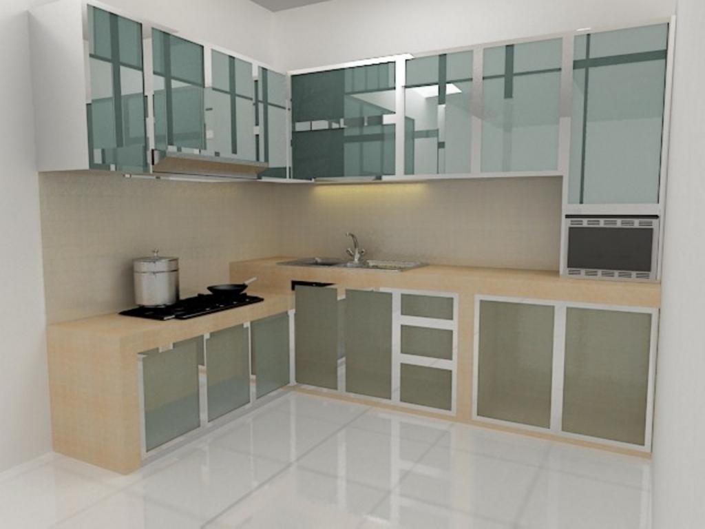 kitchen set dengan keramik 2