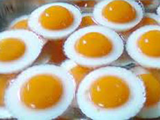 Resep praktis (mudah) puding telur mata sapi spesial (istimewa) enak, legit, sedap, nikmat lezat