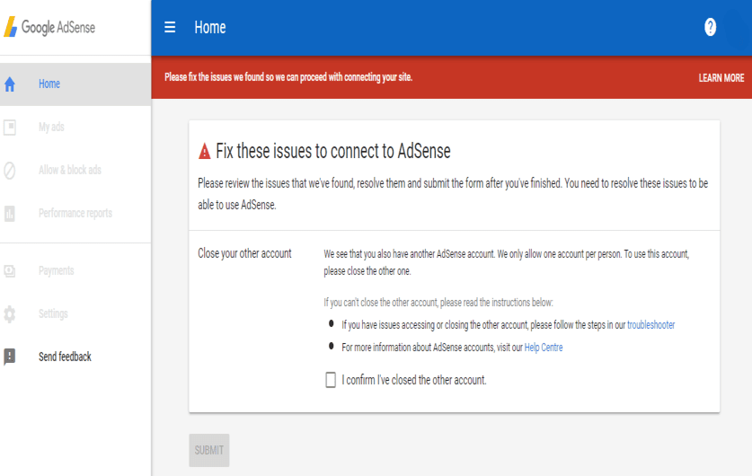 AdSense privacy issue