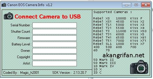 Cara Cek Shutter Count SC DSLR Canon Nikon Dan Sony