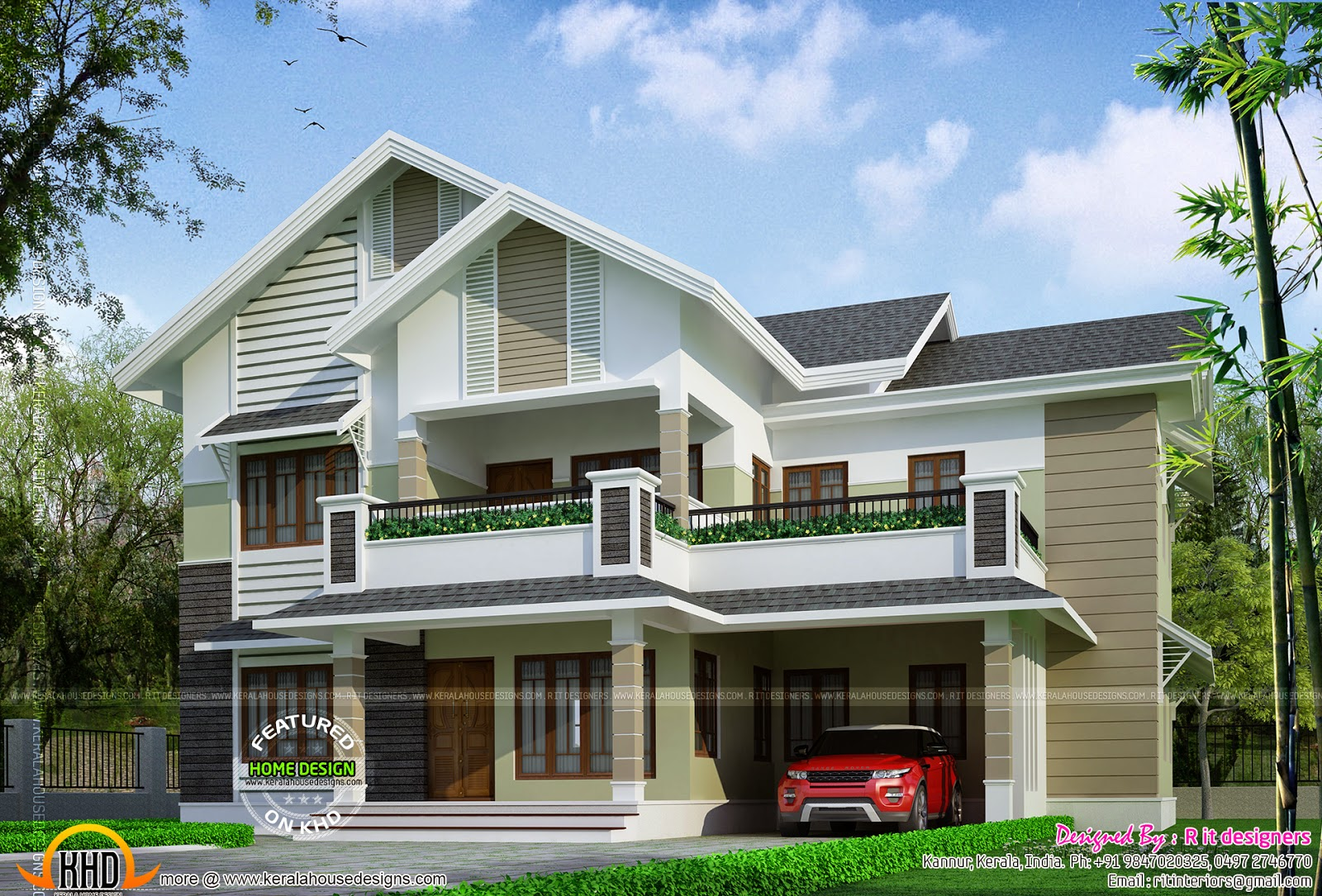 Proposed House In Kannur, Kerala  Kerala Home Design And