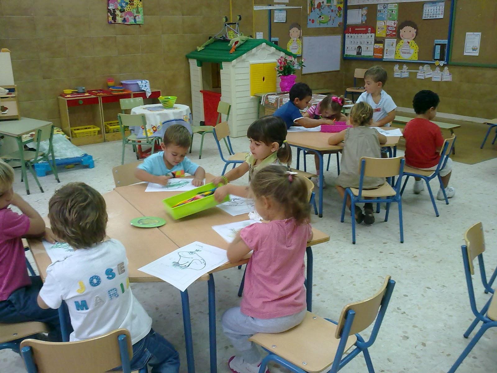Aventura diminuta bienvenidos al cole el periodo de for Actividades recreativas en el salon de clases