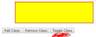toggle class