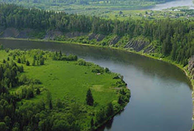 Yenisei-Angara-Selenga river