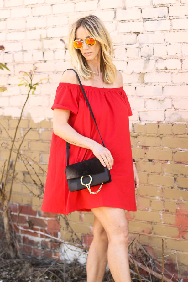 red dress for summer