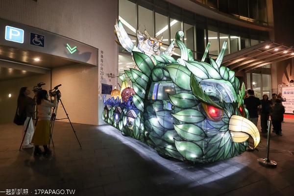2020台灣燈會在台中|太平長安醫院捐贈在地特色貓頭鷹花燈車亮相