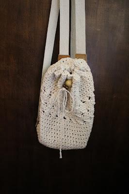 Plecaczek ze sznurka wędliniarskiego