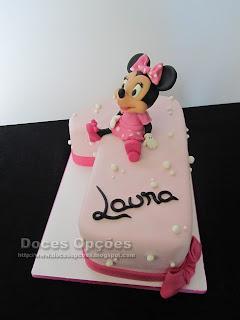 A Minnie no 1º aniversário da Laura
