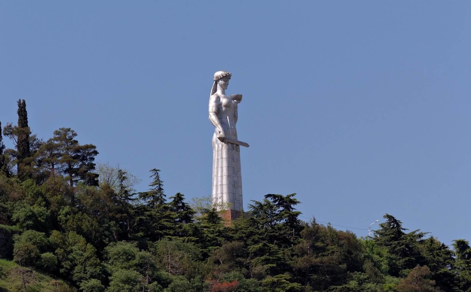 Kartlis Deda Statue in Georgia