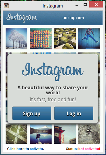 Instagram for Windows PC free Download
