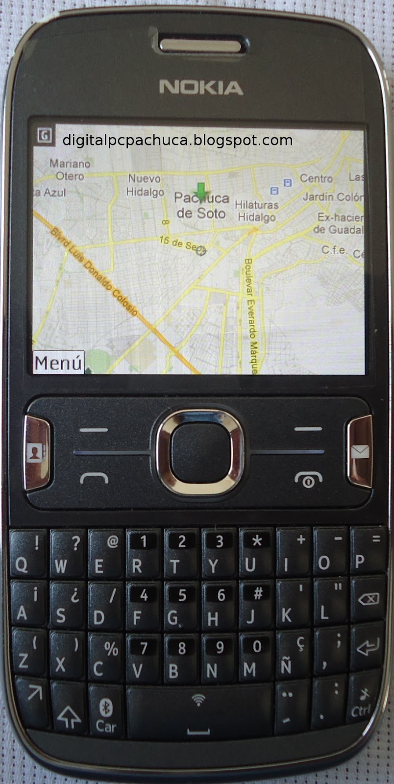 google maps for nokia asha phones
