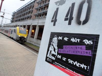 photo autocollant gare de Namur