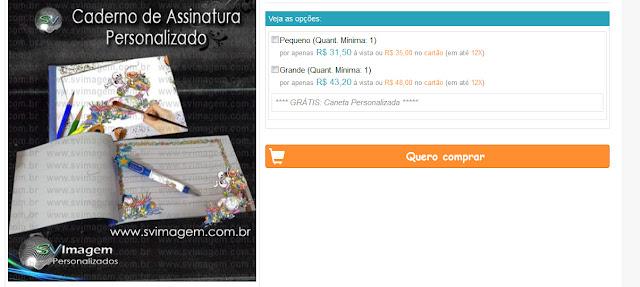 preços super barato para caderno e banner de assinatura no tema que desejar