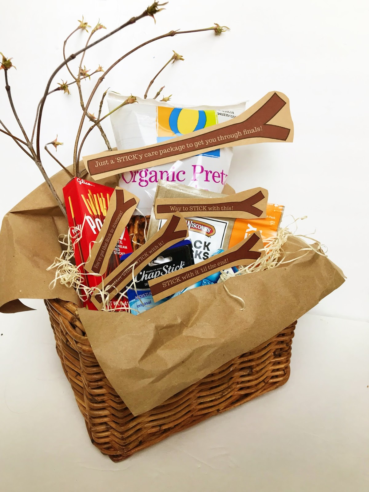 College finals care package ideas @michellepaigeblogs.com
