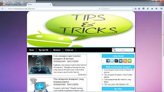Download web sederhana dengan html dan css