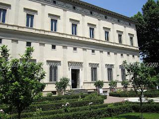 Villa Farnesina - Villa Farnesina - afrescos