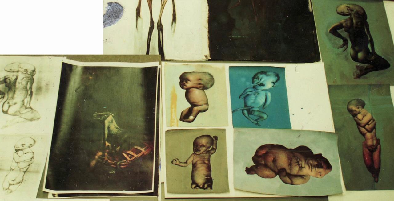 Chris Cunningham Halls Alien Resurrection Art Alienex