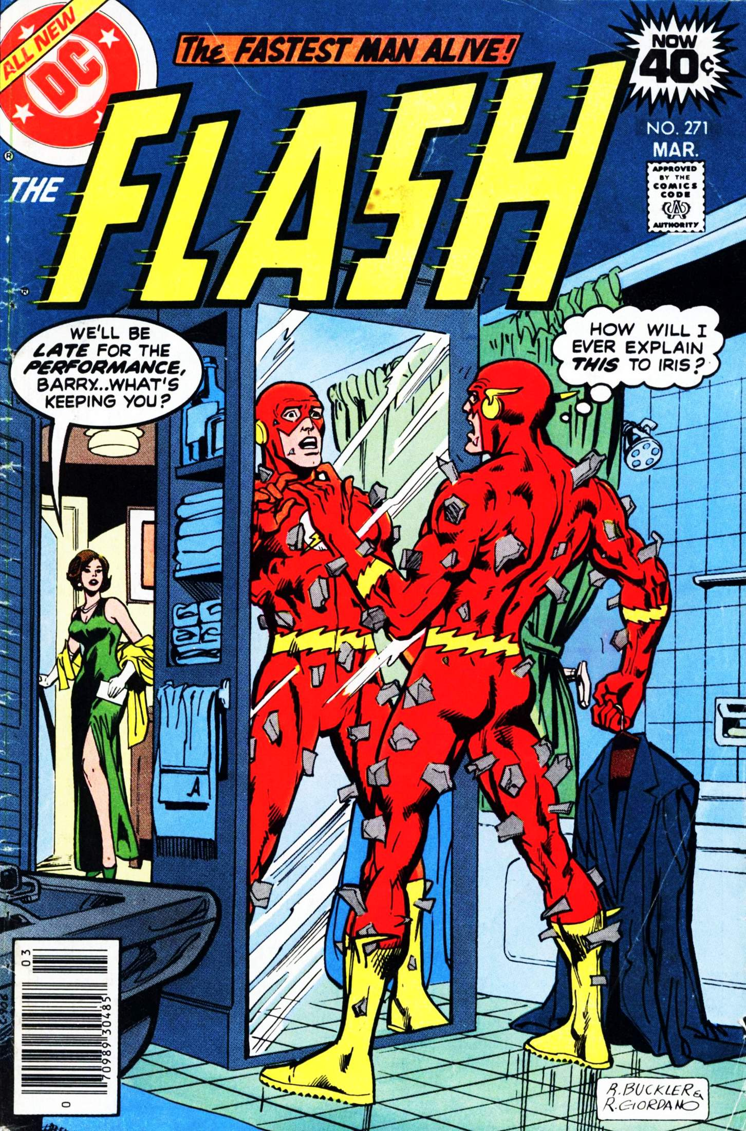 The Flash (1959) 271 Page 1