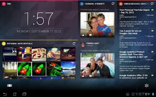 لانشر كامليون Chameleon Launcher في مراحل تطوير متقدمة : فيديو للنسخة التجربية على هاتفي جالاكسي نوت 2 Galaxy Note و نكسوس Nexus 4