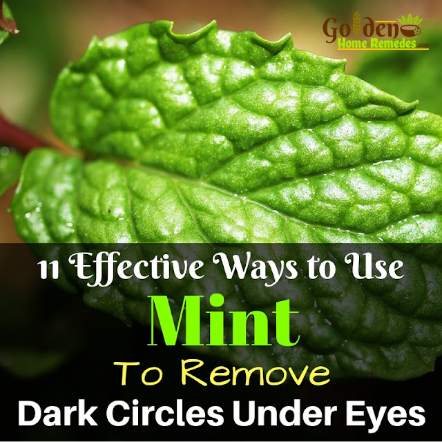 Mint Leaves For Dark Circles, Mint For Dark Circles, How To Use Mint For Dark Circles, How To Get Rid Of Dark Circles, How To Remove Dark Circles, Home Remedies For Dark Circles, Dark Circle Home Remedies, Dark Circle Treatment, Dark Circle Remedies, How To Treat Dark Circles,